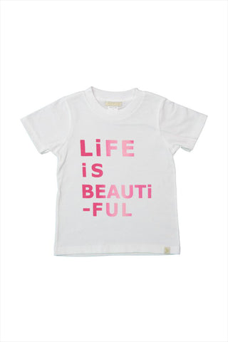 Life Is Beautiful Crew Tee