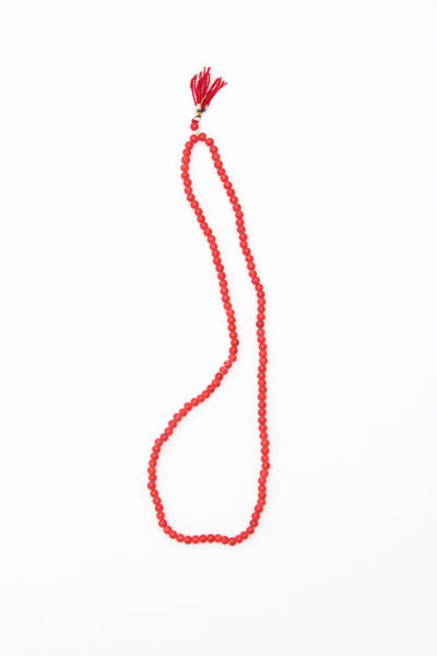 Red Bead Strand
