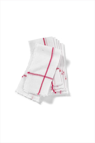 Red Napkin set