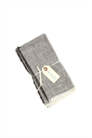 Ash Gray Napkin set