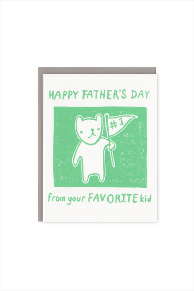 Sibling Rivalry Father's Day Card