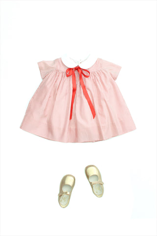 Baby Silk Candy Stripe Dress