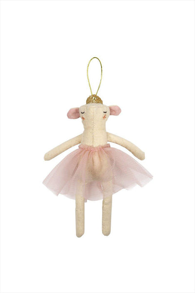 Ballerina Mouse Ornament Tree Decoration