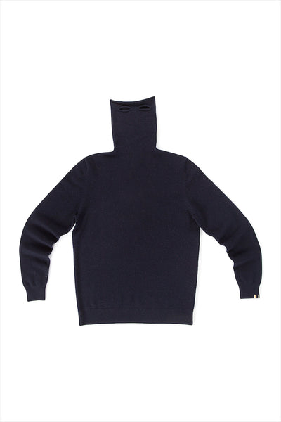 Extreme Cashmere n°57 Be All Turtleneck Navy