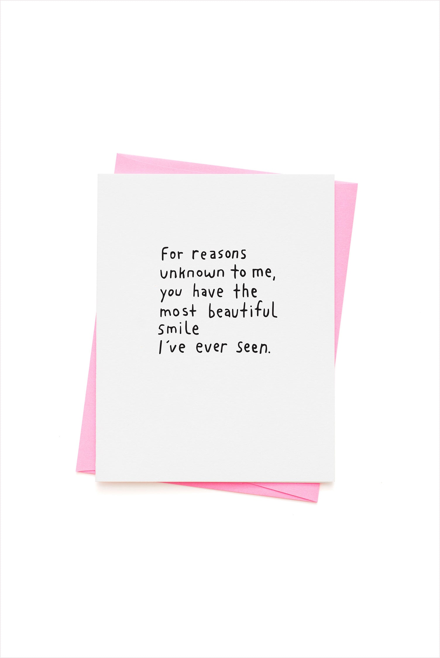 Beautiful Smile Card