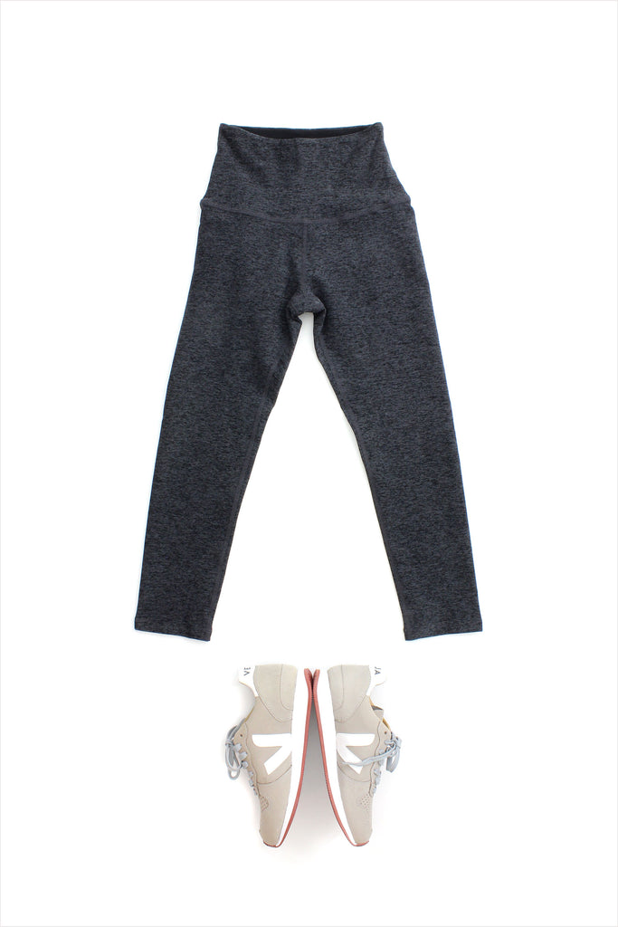Spacedyed High Waisted Capri