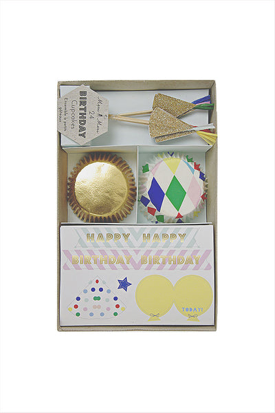 Birthday Cupcake Kit