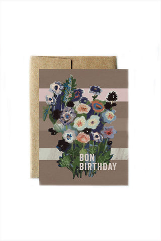 Bon Birthday Card