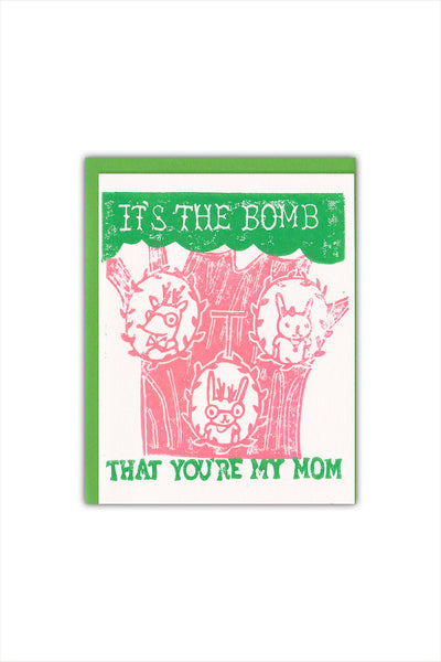 Family Tree Mom Card