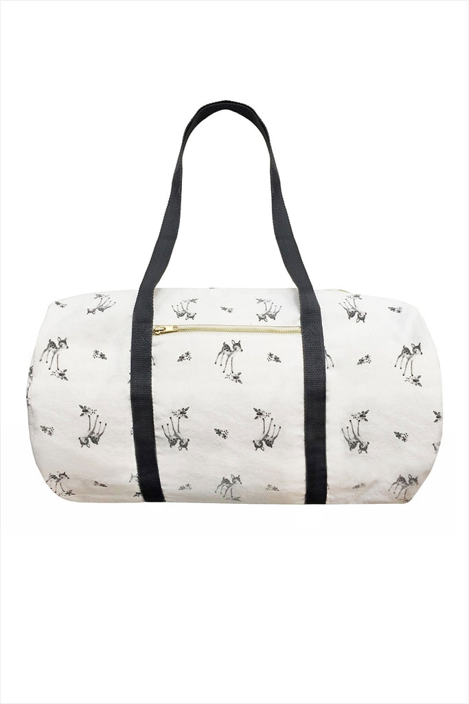 Weekend Diaper Bowling Bag Fawn Off White
