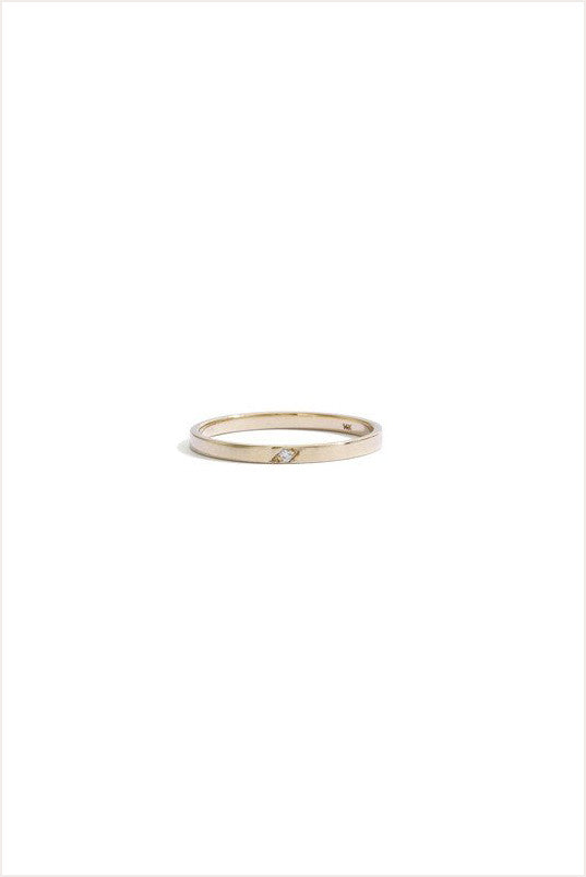 Children's Single Diamond Dainty Band