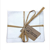 Cotton Cocktail Napkin Ecru
