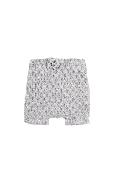 Smock Shorts Melange Grey