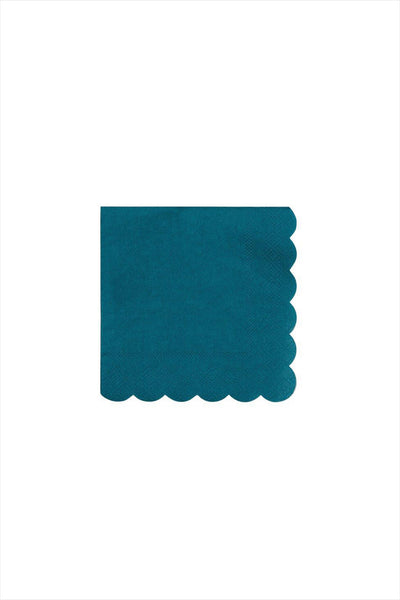 Dark Teal Small Napkins