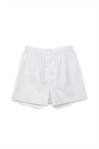 Derek Rose Men's Classic Boxers White