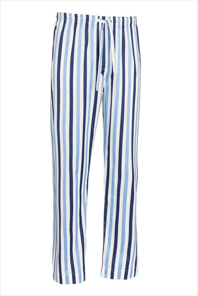 Derek Rose Men's Lounge Pant Blue