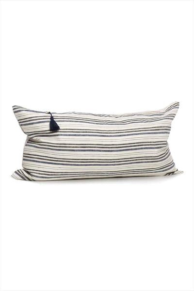 Pillow 14 x 26 Deauville Black/Navy