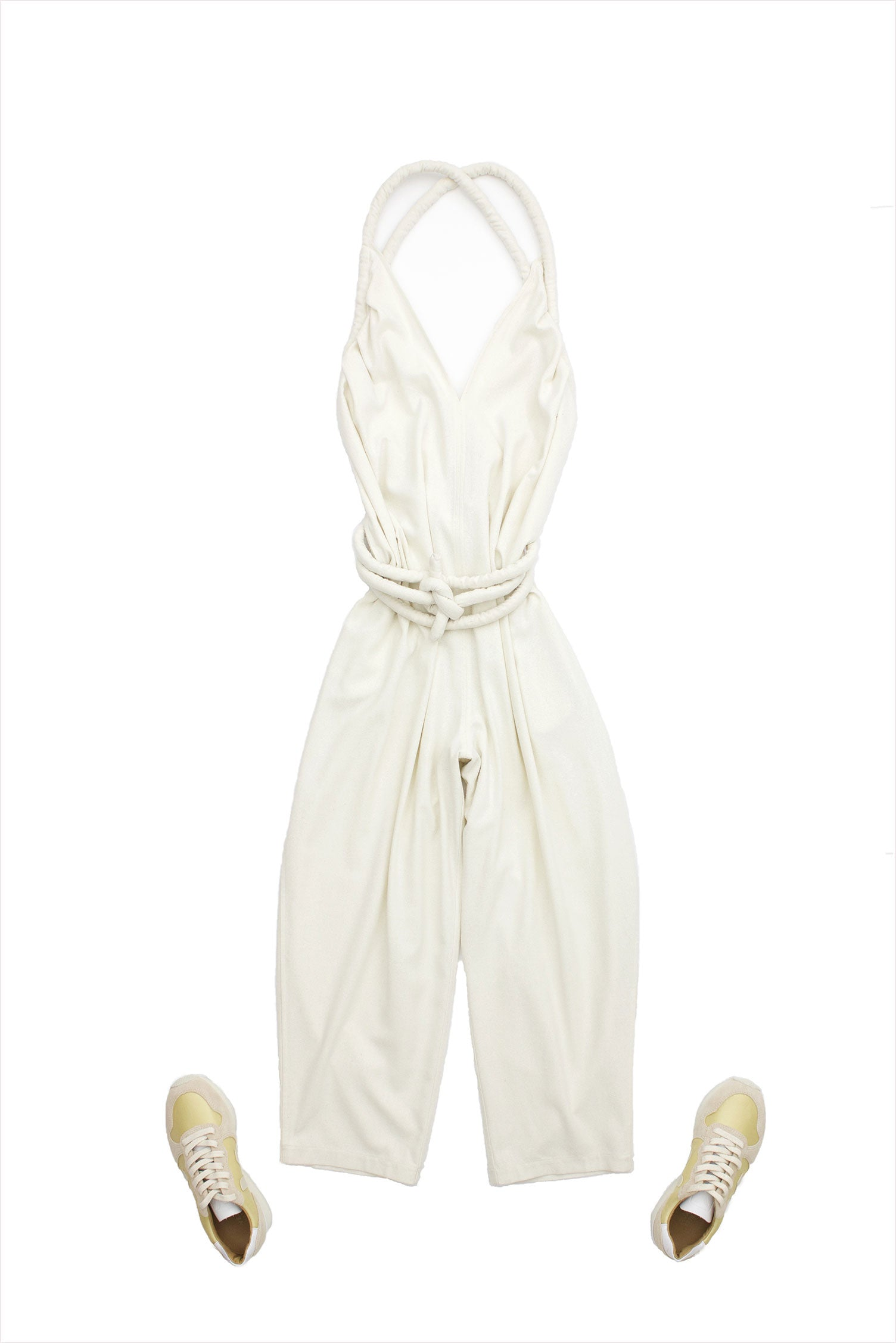 Electric Feather Infinite Rope Jumpsuit