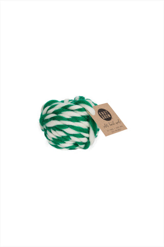 Emerald Twist Wool Ball