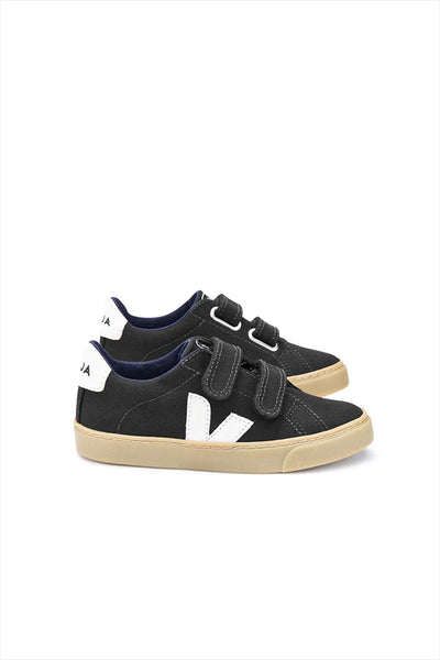 Veja Esplar Small Velcro Black Natural