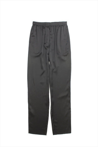 Extreme Cashmere n°71 Silk Pants Black