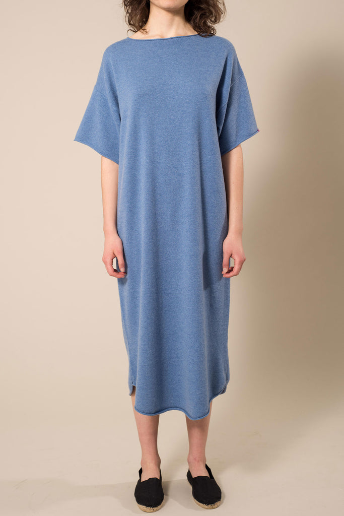 Extreme Cashmere n°44 Long Tee Ocean