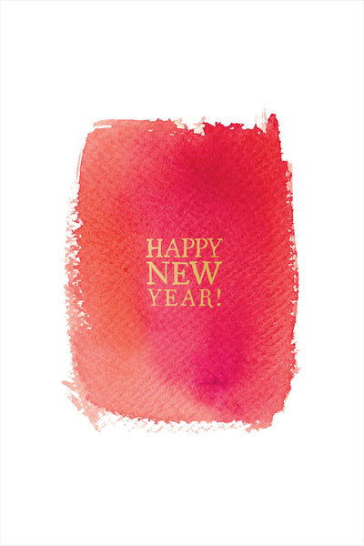 Red Hot New Year Card