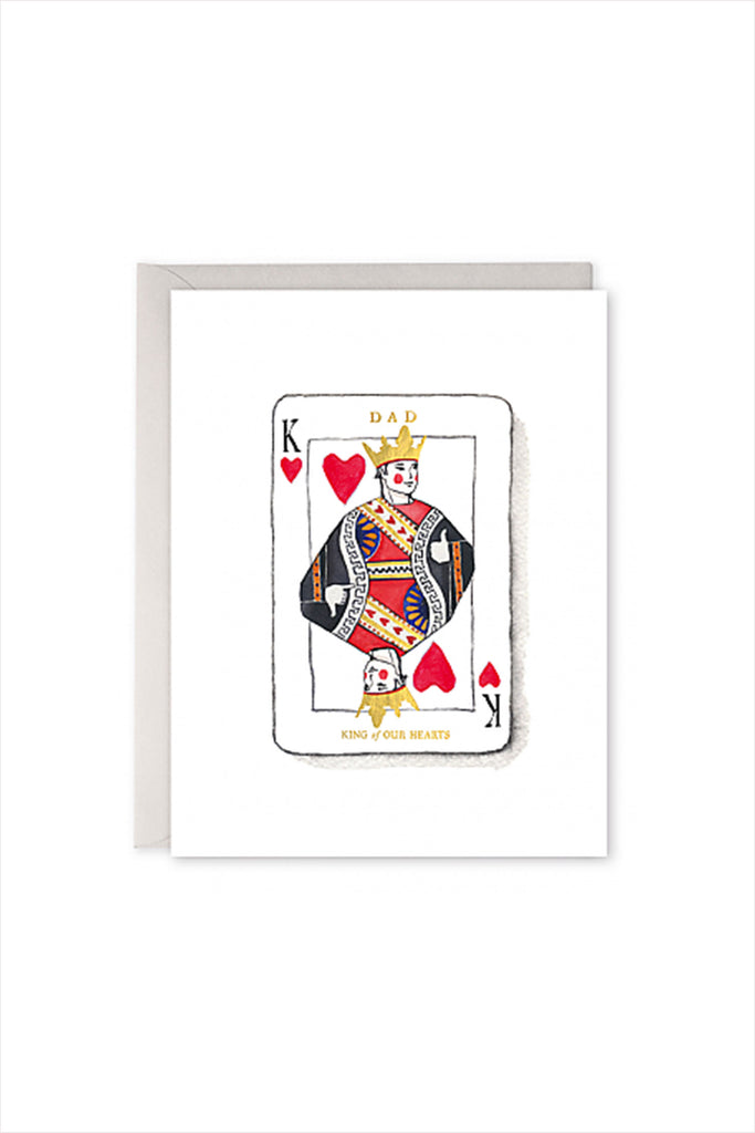 King Dad Fathers Day Card
