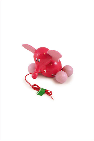 Fan Fan Elephant Pull Toy