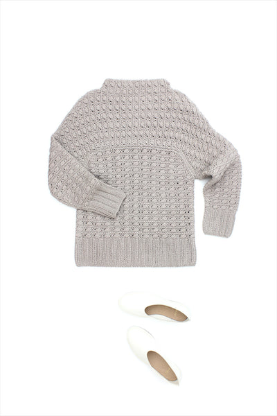 F&H Cashmere Luxembourg Sweater Mauve