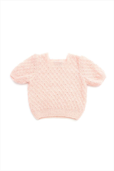Angora Cashmere Blush Sweater