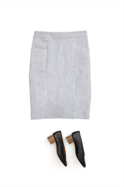 F&H Women's Stripe Skirt