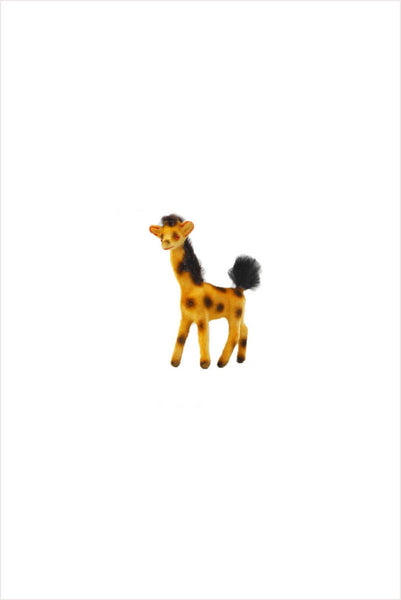 Flocked Giraffe