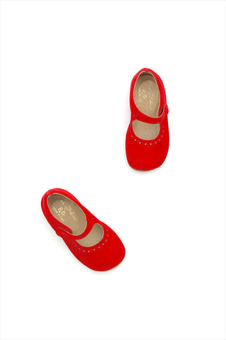 Frances Flat Bright Rouge