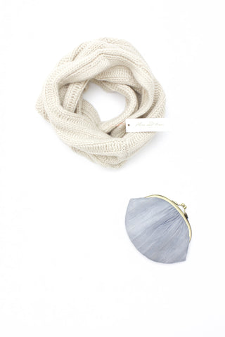 Flora And Henri Cashmere Cowl