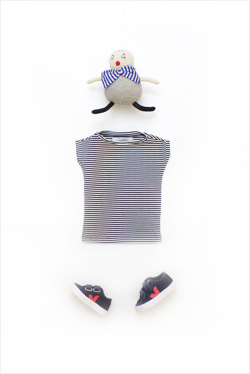 French Stripe Tunic Tee