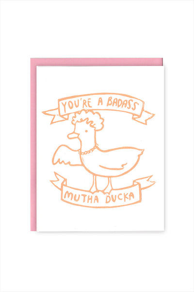 Mutha Ducka Mother's Day Card