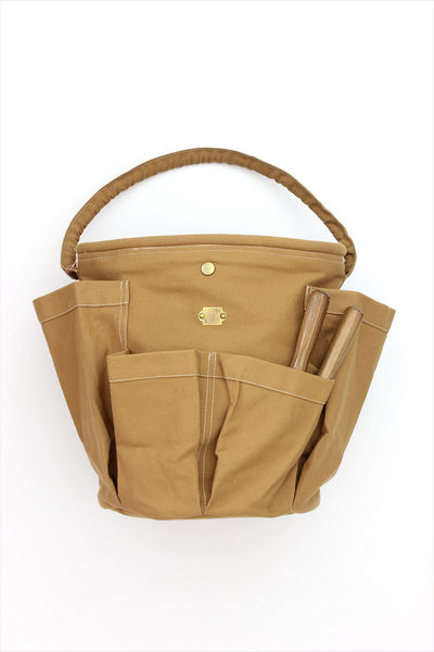 French Gardening Tote Golden Tan