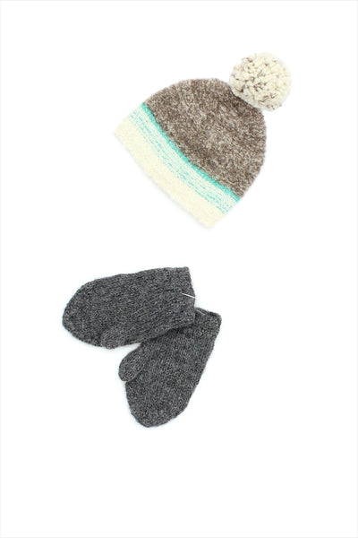 Sample Sale Winter Mittens Small Grey