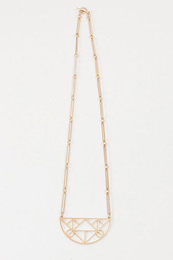 Gold Albers Necklace