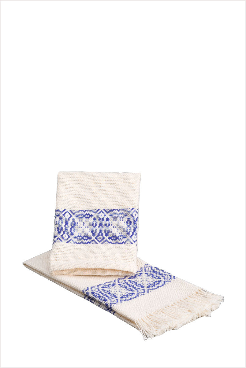 Handwoven Napkins Navy