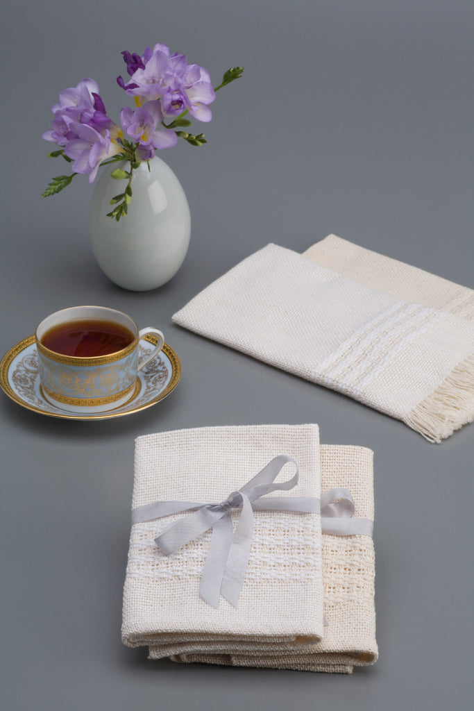 Handwoven Napkins Natural