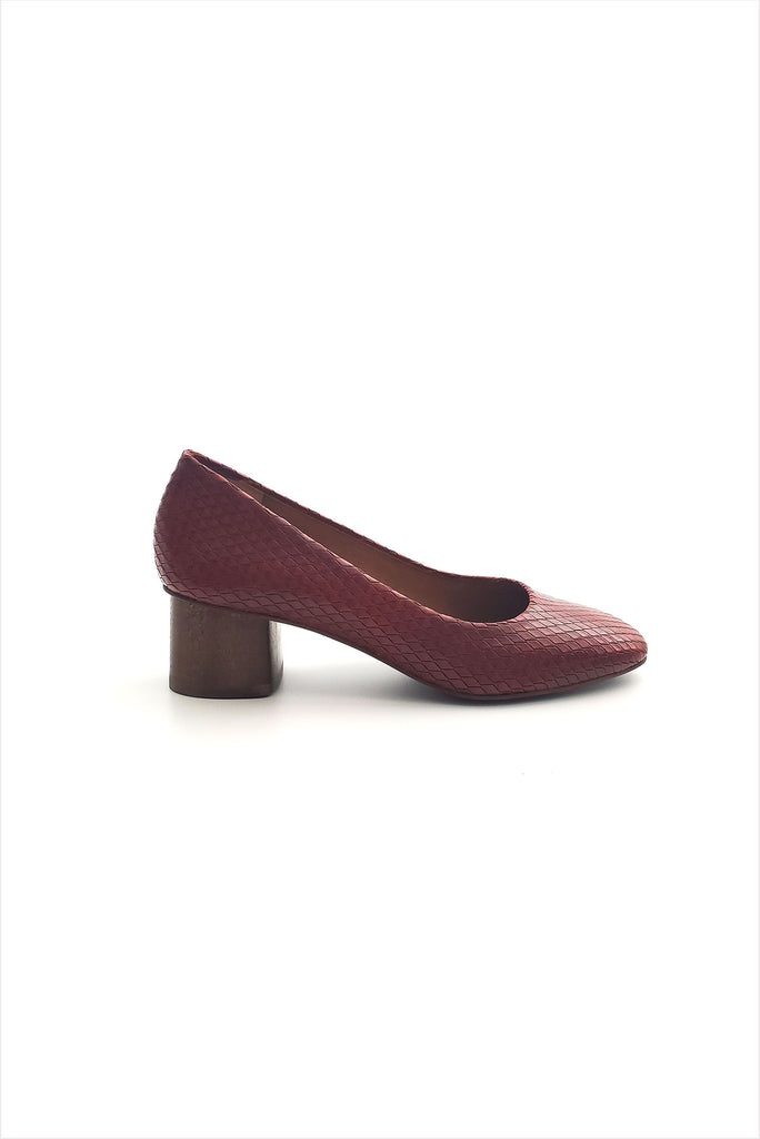 Coclico Epic Square Heel Harley Russet
