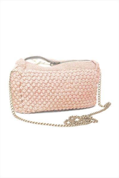 AIAYU Helen Chain Clutch Bag Rosette