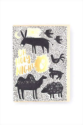 Oh Holy Night Holiday Card