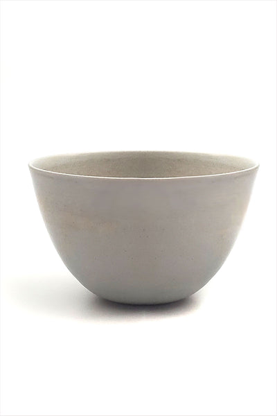 Cecile Preziosa Stoneware High Bowl Short Light Blue