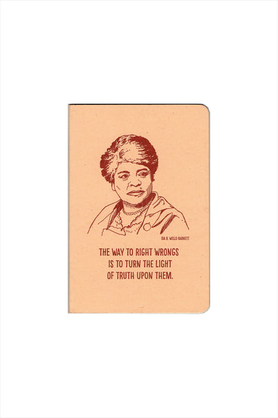 Ida B Wells-Barnett Notebook