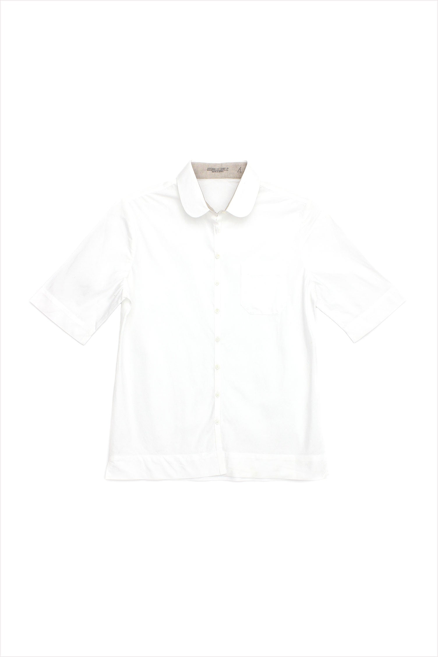 Short Sleeve Bias Shirt