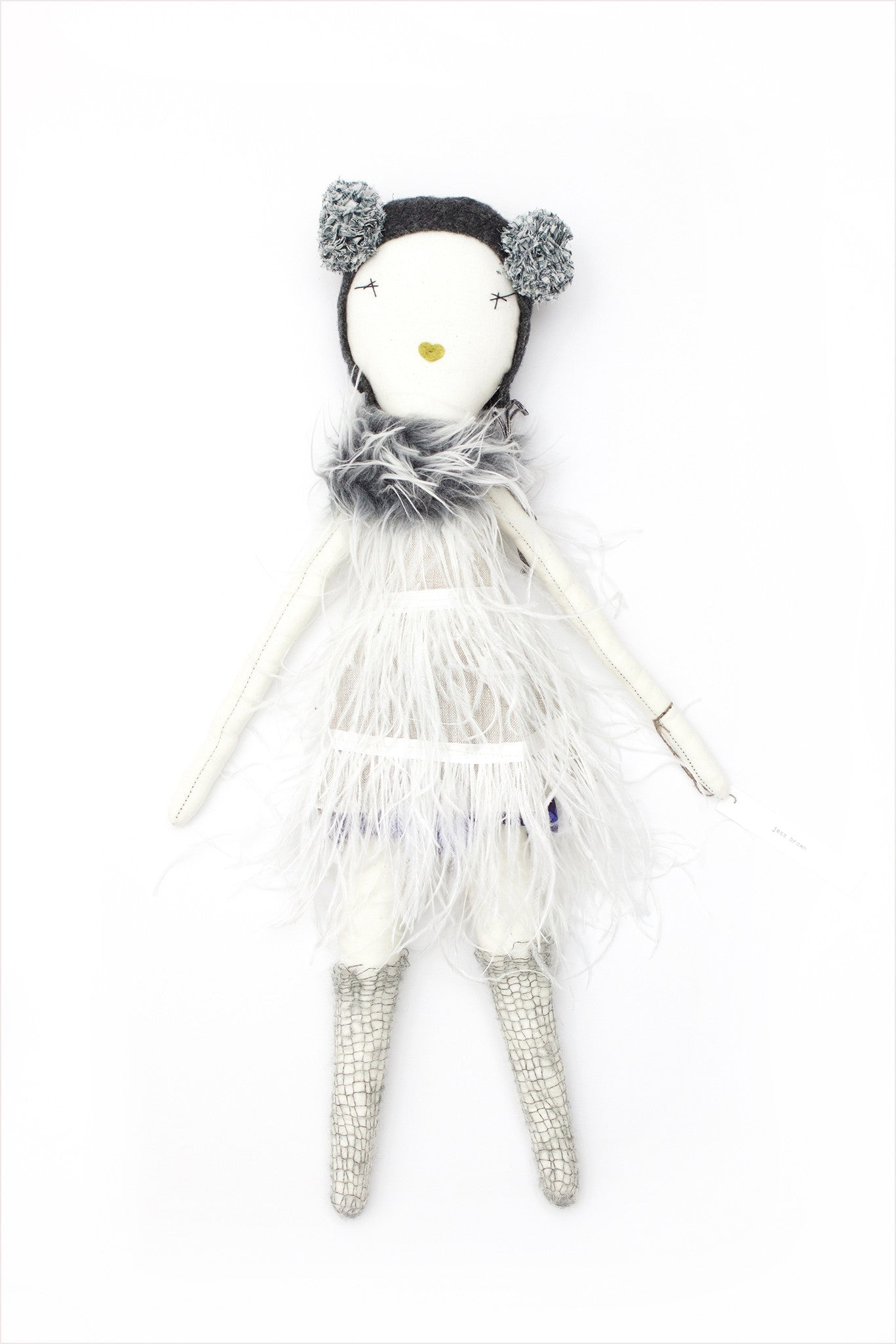 Jess Brown Chloe Doll - Gray