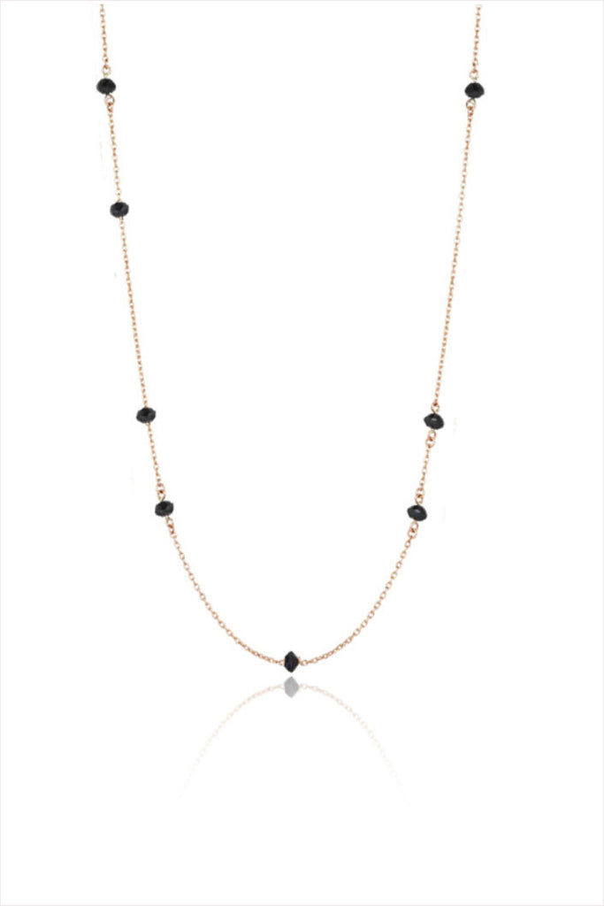 Black Diamond Chain Choker